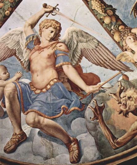 天使の絵画Fall of the Rebel Angels